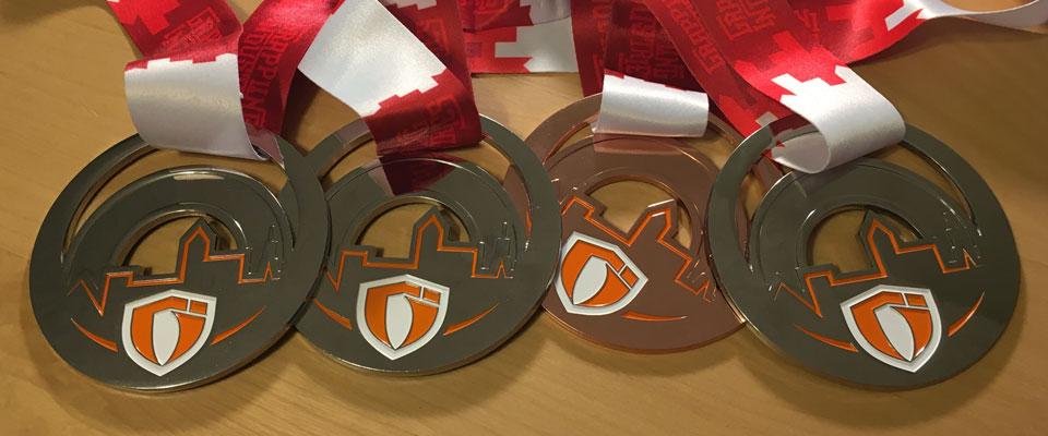 BJJ Tournament Medals