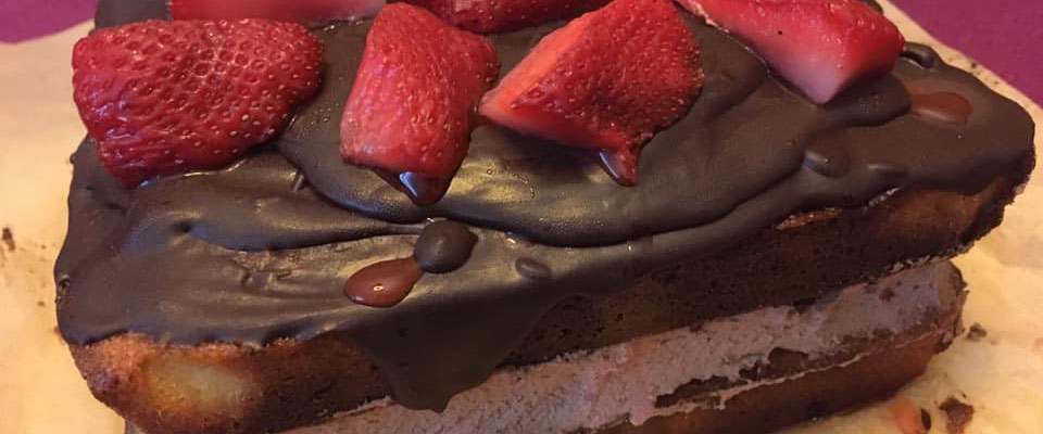 Gluten Free Layered Chocolate Cake