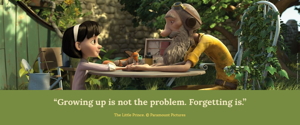 """Growing Up is Not the Problem. Forgetting Is"""
