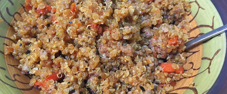 Quinoa Stir Fry Dish